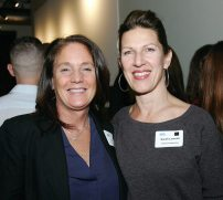 Lisa Fabiano of Roomscapes Cabinetry & Design Center with Sarah Lawson of S+H Construction