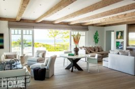 Hutker Architects Great Room with Game Table