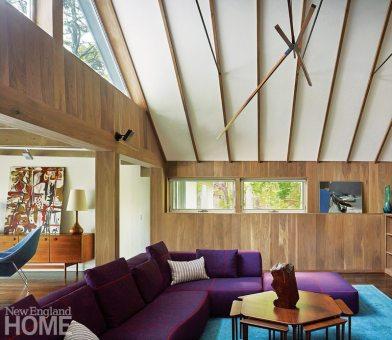 Midcentury Modern Family Room