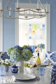 Nantucket Dining Table Vignette