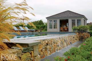 Nantucket Pool and Pool House