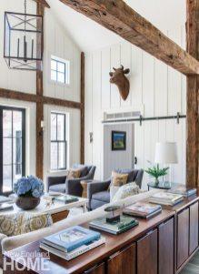 Restored Amos Otis House Living Area