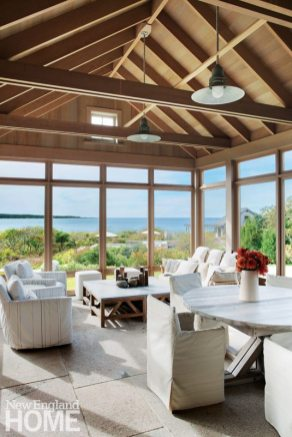 Hutker Architects Martha's Vineyard Kitchen