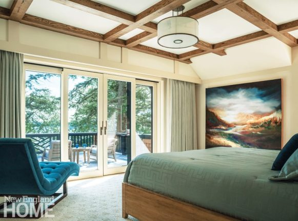 Lake Sunapee Camp Master Bedroom