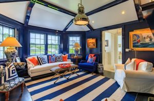 A Bold and Colorful Nantucket Family Compound