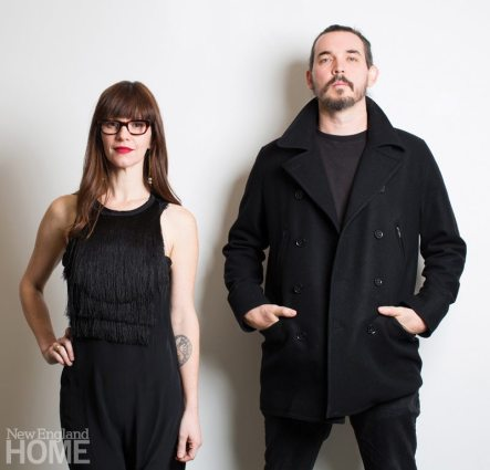 Designers Aja and Ben Blanc