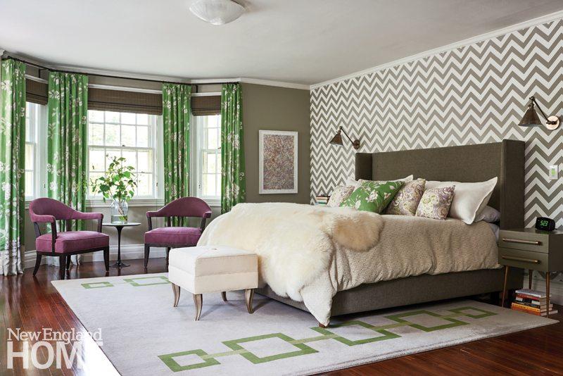Brookline historic home master bedroom
