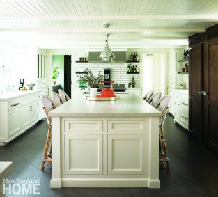 Kitchen Federal-style home Connecticut