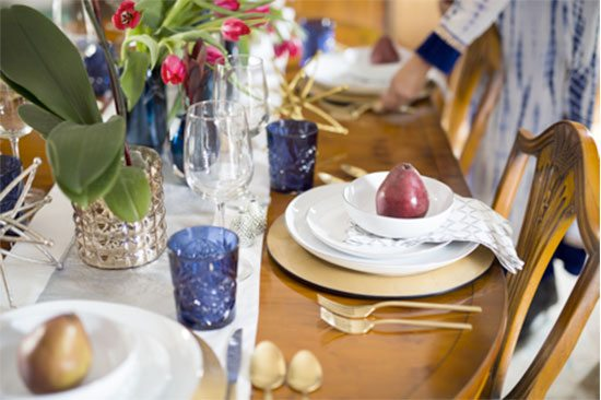 Vani Sayeed Holiday Table