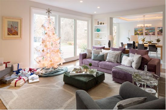 vani sayeed holiday living room