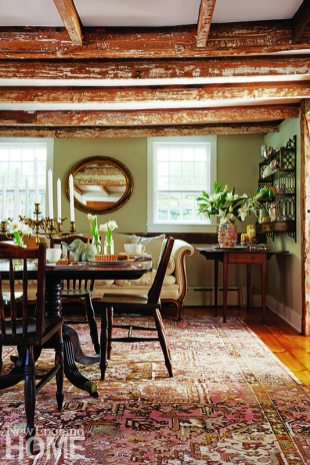 Dining room antique house