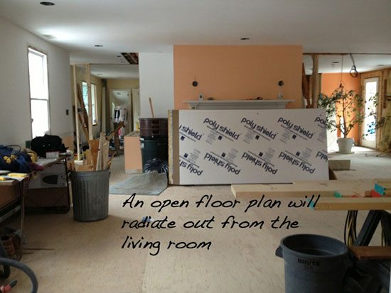 Diary Of A Renovation Demolition And Designing As You Go New
