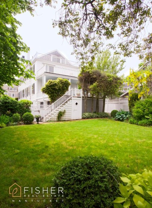 There is plenty of space in the home's back and side yards.