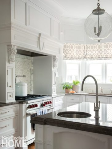 A light and airy kitchen