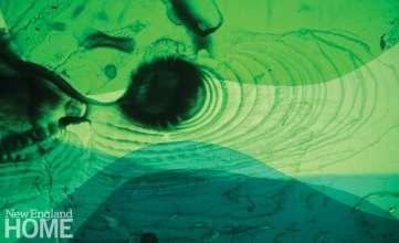 Light Rhythm (2013), handmade slide.