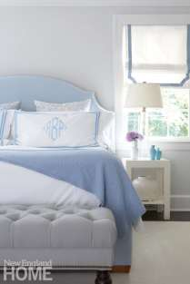 Bed with custom Legacy Linens