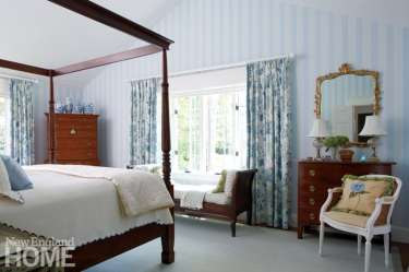 Master bedroom with antiques