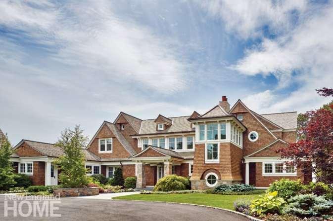 Shope Reno Wharton Shingle style home