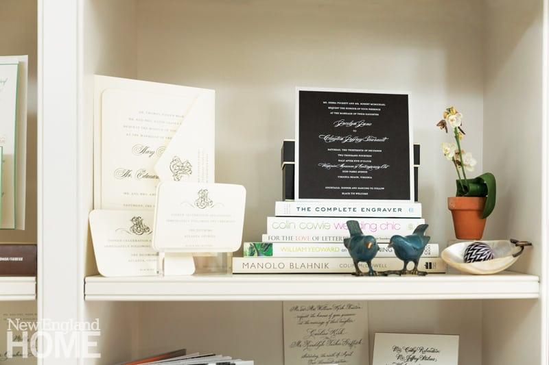Custom wedding invitations, a Bespoke Designs signature offering.