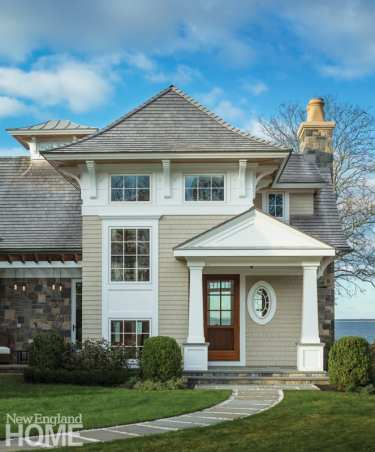 Shingle style home Westport CT