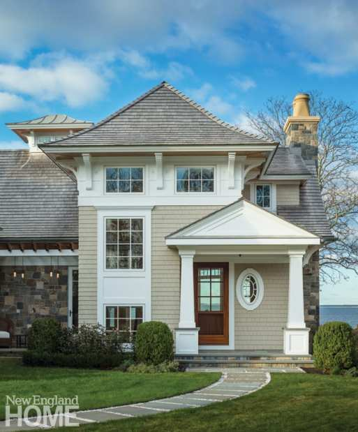Shingle style home Westport CT