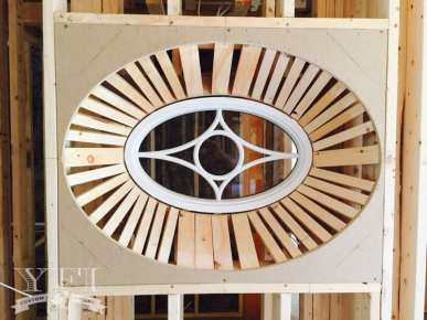 Custom window by YFI Custom Builders