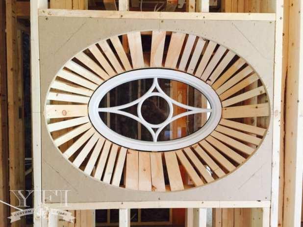 Custom window by YFI Custom Builders