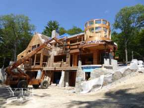 Lake Winnipesaukee home building