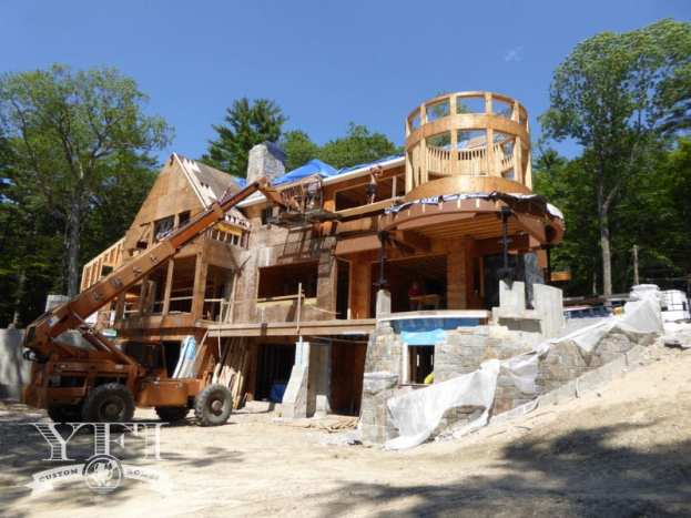 Lake Winnipesaukee home building