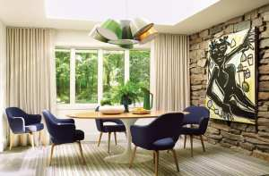 A Cheerful Midcentury Modern Home in Westport Eschews Colonial Style for Something Different