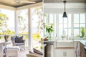 Living Large in a Compact Duxbury Beach House