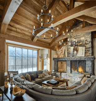 Five Essential Elements for a Home that Nurtures the Spirit: Homecoming great room