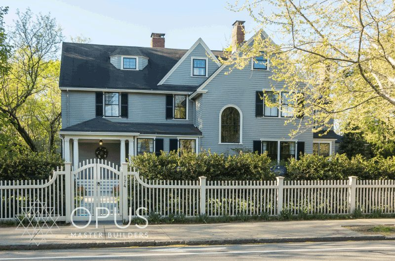 Luxury Home Construction New England: exterior