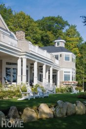 Classic New England Charm shingle exterior