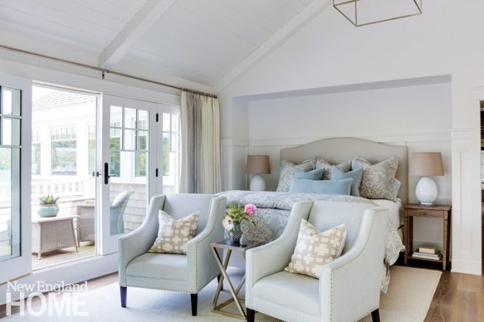 Classic New England Charm bedroom