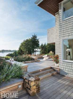 Jamestown Island deck
