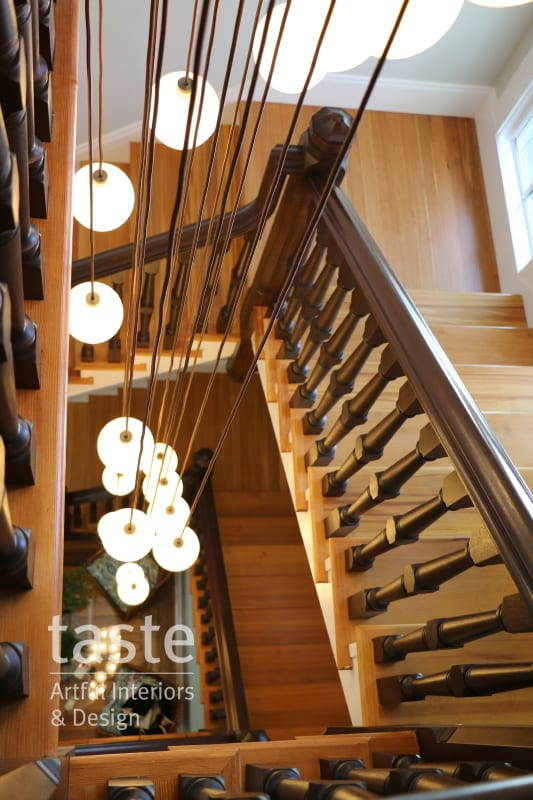 taste design historic renovation stairwell