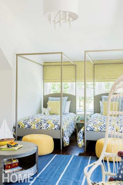 old and new kids' bedroom
