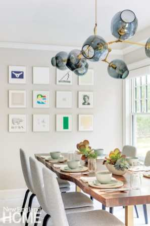 home gets a new lease on life dining area