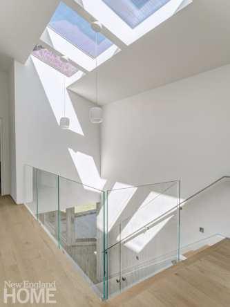 minimalism connecticut stairwell