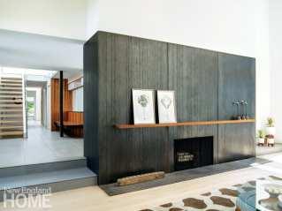 minimalism connecticut fireplace