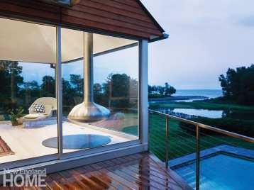 minimalism connecticut sitting room views