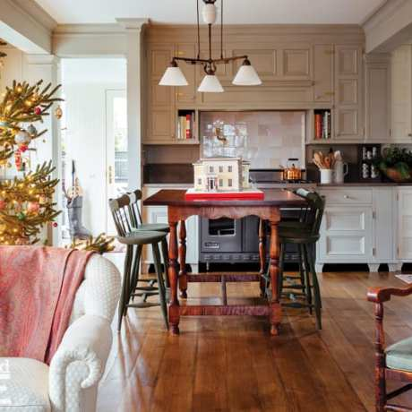 connecticut country house kitchen