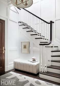 boston brownstone roof deck staircase