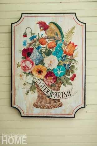 sister parish sign