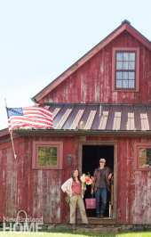 Back 40 Farm barn
