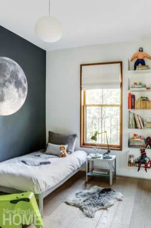 historic south end townhouse kids bedroom