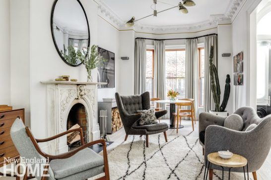 historic south end townhouse parlor