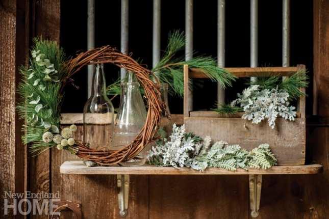 Aster B. wreath