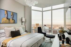 boston high-rise guest bedroom